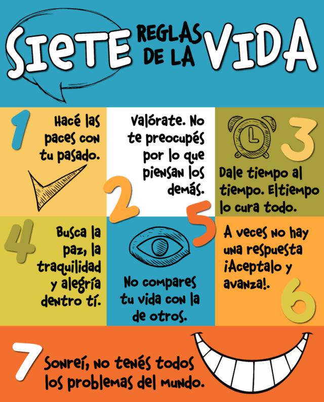 reglas para la vida