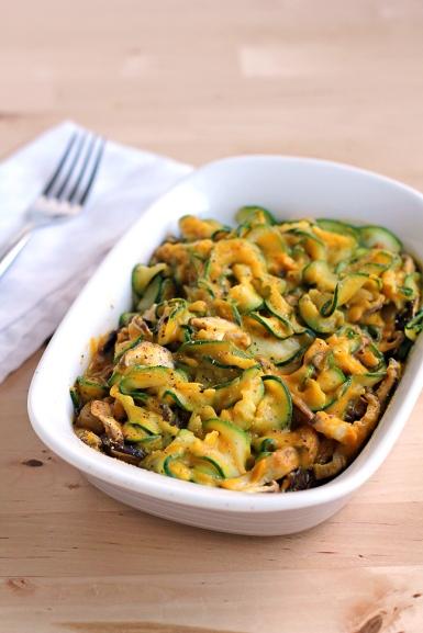 Zucchini-Rosemary-Pasta